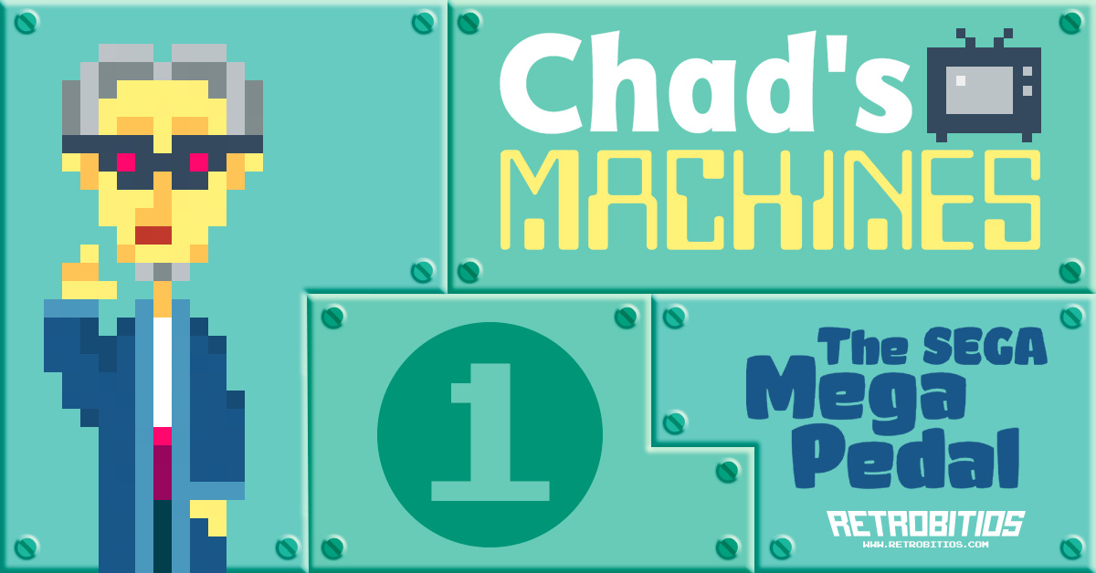 Chad's Machines - The SEGA Mega Pedal
